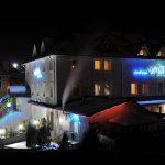 Отель Ориана Трускавец Фото - ночью.