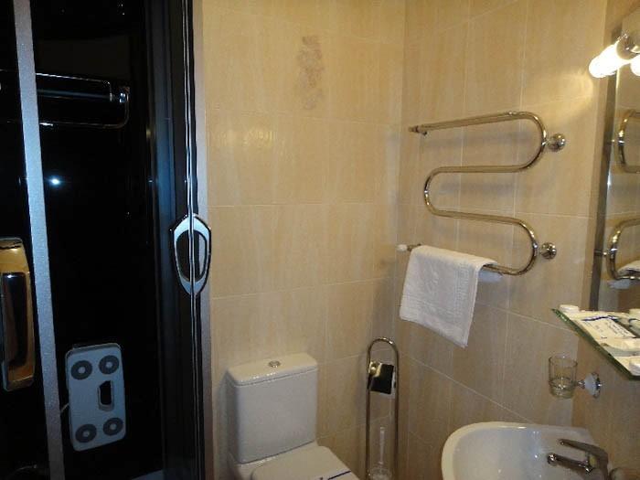 Отель Парк Трускавец Номер Комфорт - Туалет.