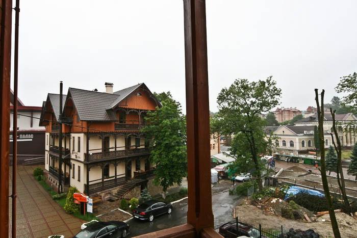 Отель Парк Трускавец Номер Комфорт - Вид с окна.