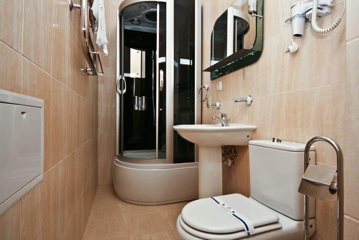 Отель Парк Трускавец Номер Люкс Комфорт - туалет.