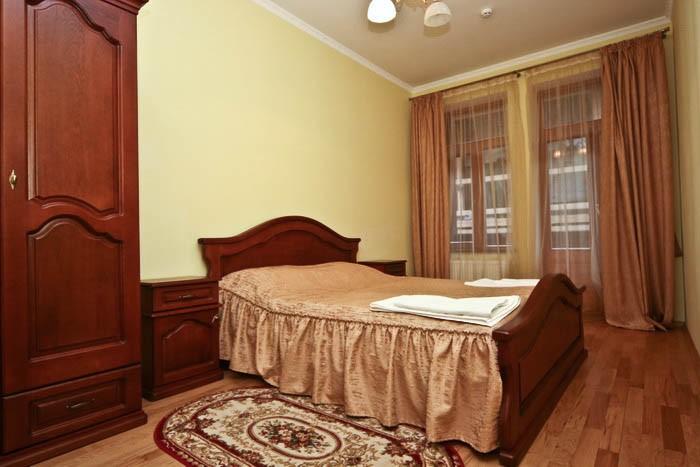 Отель Парк Трускавец Номер Люкс - Спальня.