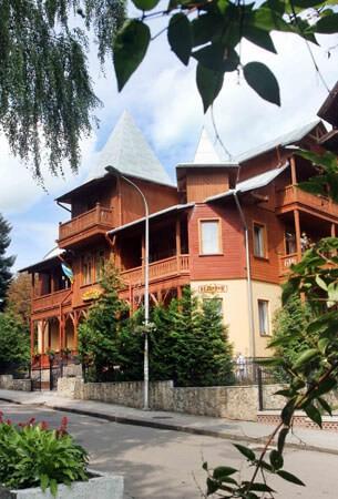 Отель Парк Трускавец Фото