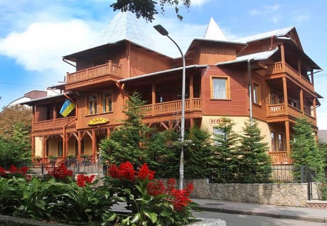 Отель Парк в Трускавце