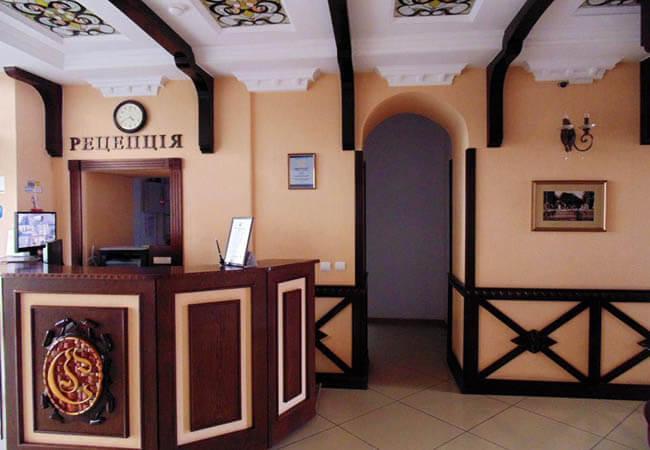 Отель Сенатор Трускавец Фото - Reception.