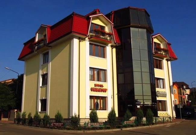 Отель Сенатор Трускавец Фото - Здание.