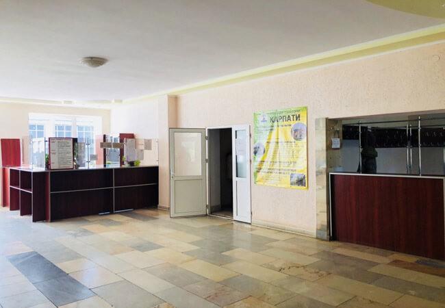 Санаторий Карпаты Мукачево - Коридор.