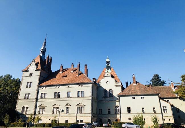 Санаторий Карпаты Мукачево - Замок