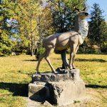 Санаторий Карпаты Мукачево - Статуя Оленя.