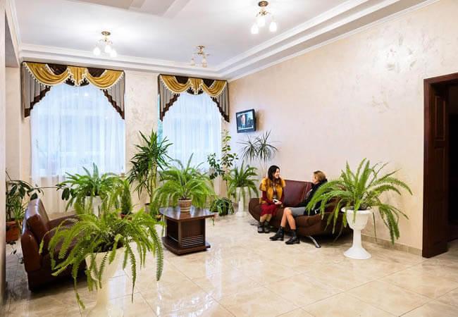 Санаторий Хрустальный Дворец Фото - зона релакса.