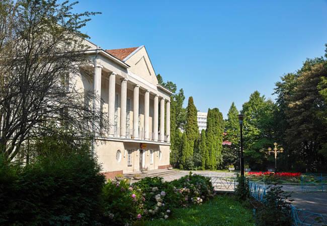 Санаторий Хрустальный Дворец Трускавец Фото - Дворец культуры.