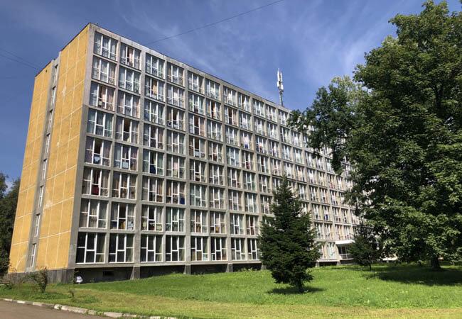 Санаторий Днестр в Моршине