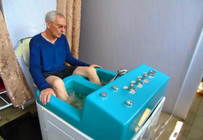 Санаторий Карпаты Закарпатье Фото - лечение ног.
