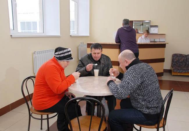 Санаторий Лаванда Моршин Фото - Прием пищи.