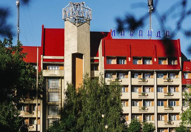 Санаторий Лаванда Моршин Фото - Здание.