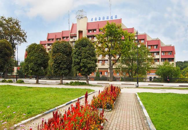 Санаторий Лаванда в Моршине
