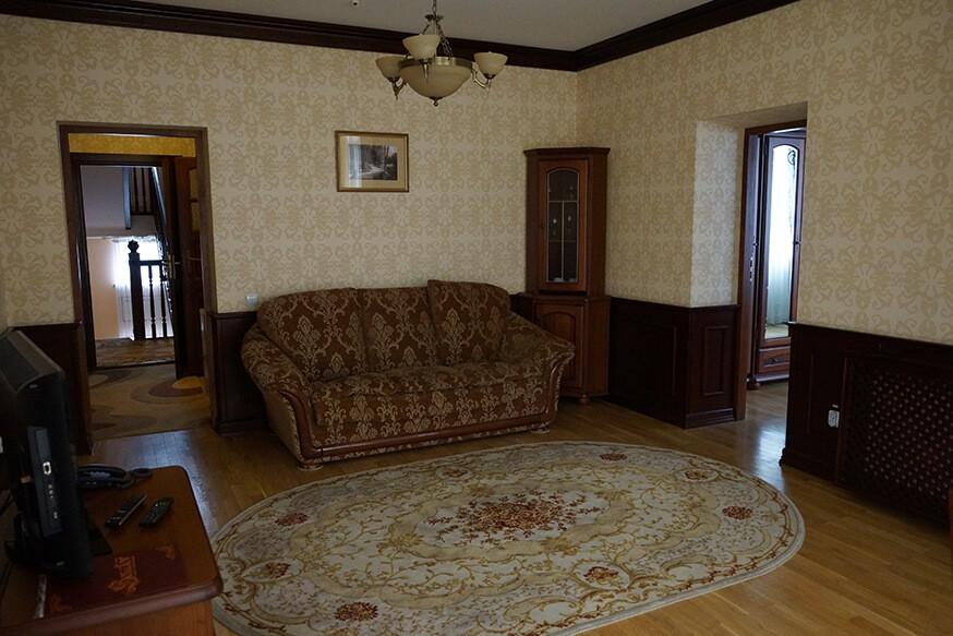 Отель Сенатор Апартаменты 3ком. - гостиная.