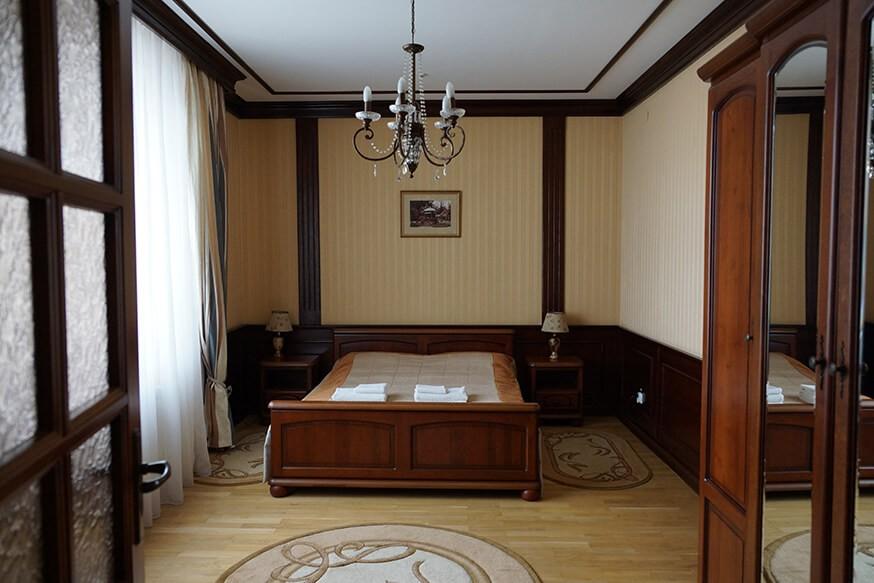 Отель Сенатор Апартаменты 3ком. - В спальне.