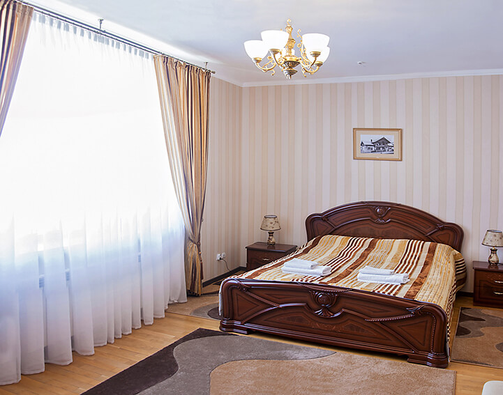 Отель Сенатор Апартаменты 3ком. - Спальня.