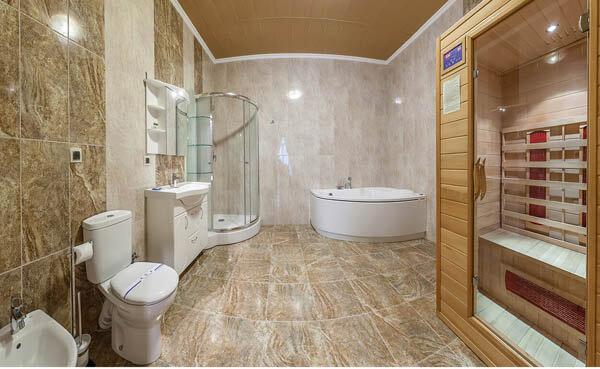Золотая Корона Номер - люкс - ванная комната.