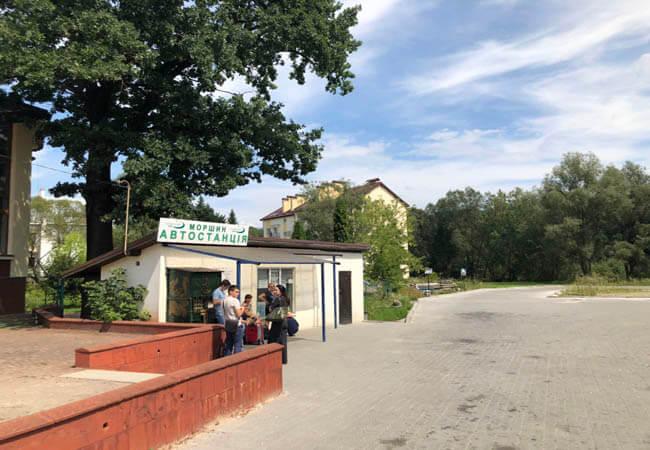 Автовокзал Моршин.
