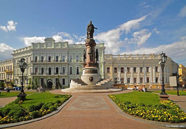 Екатеринская площадь Одесса