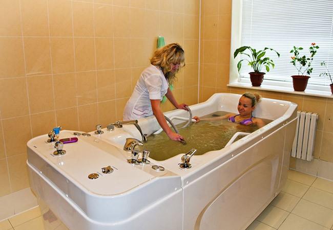 Лечебные ванны в Моршине.
