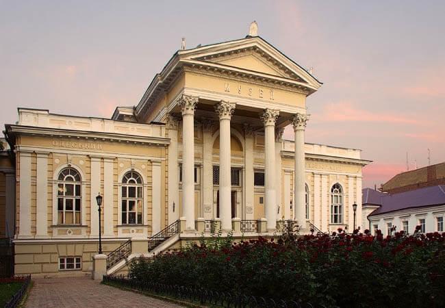 Музей археологии Одесса.