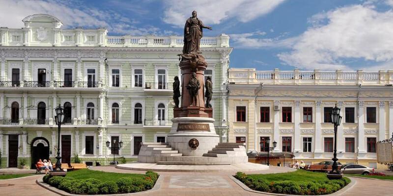 Памятник Екатерине в Одессе