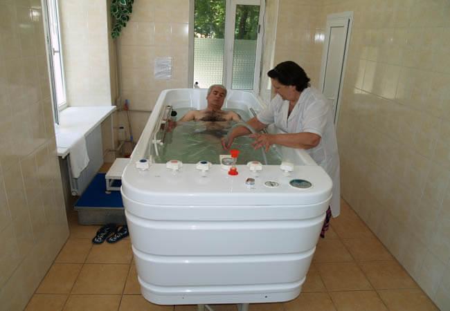 Подводный массаж Одесса