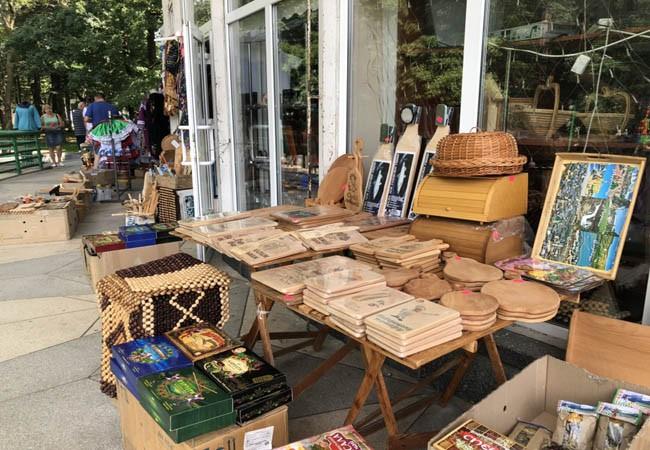 Рынок в Моршине.