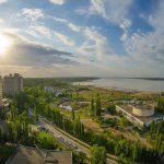Санаторий Куяльник Одесса Фото - Вид с воздуха.