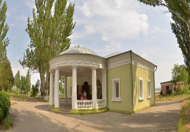 Санаторий Куяльник Одесса Фото - Здание.