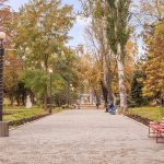 Санаторий Лермонтовский Одесса Фото - Парк.