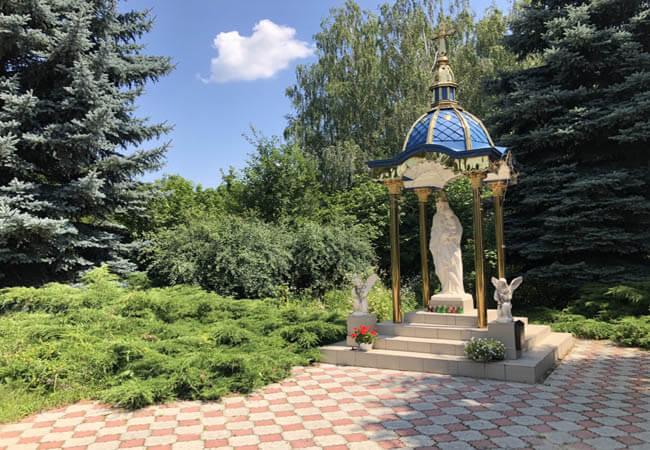Санаторий Медоборы Фото - Божья Матерь.