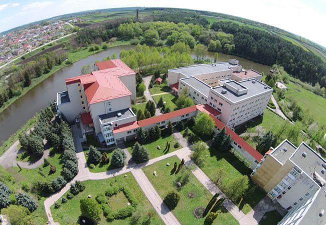 Санаторий Медоборы Фото - Вид с воздуха.