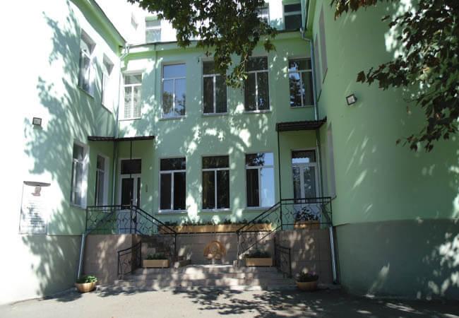 Санаторий Одесса Фото - здание.