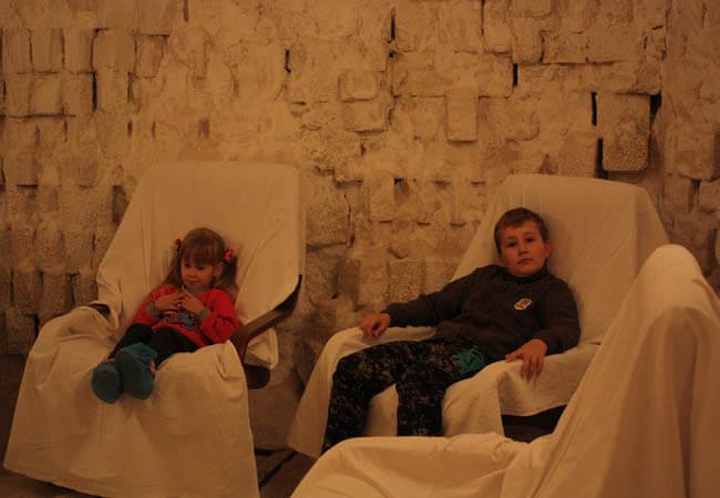 Санаторий Одесса Фото - Соляная терапия