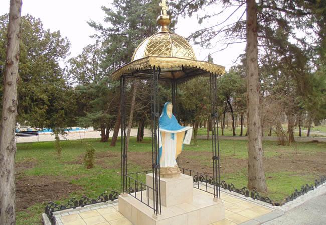 Санаторий Одесса Фото - Статуя.