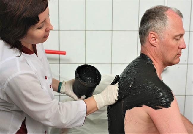 Санаторий Одесса Фото - Лечебные грязи.