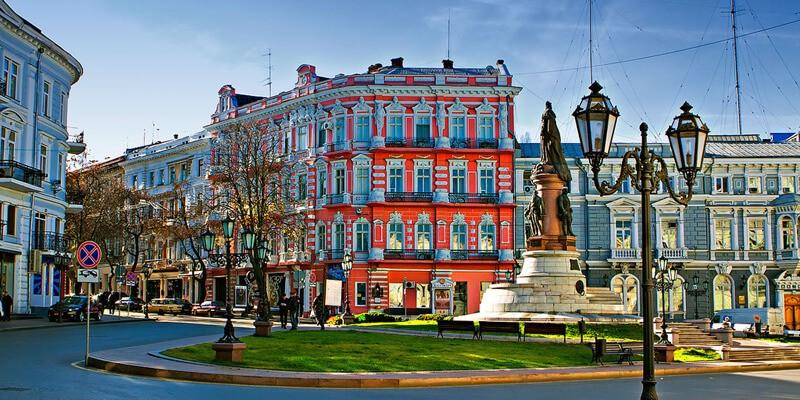 Улица в Одессе