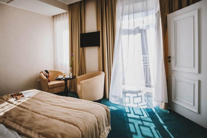 Отель Алькор Номер Люкс - Комната.