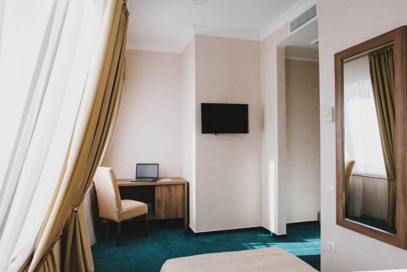Отель Алькор Номер Стандарт 1.месн - Спальня.