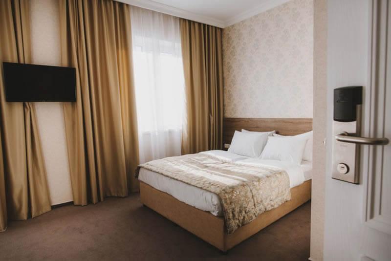 Отель Алькор Номер Стандарт 2.месн - Кровать.