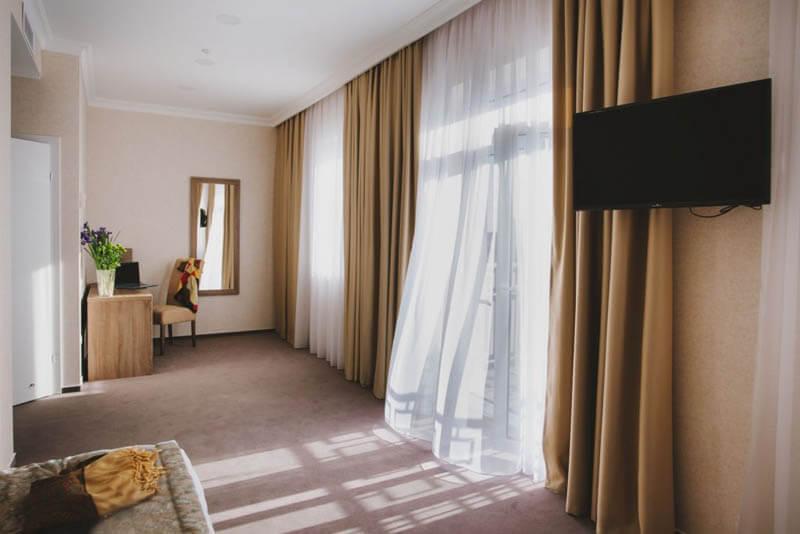 Отель Алькор Номер Стандарт 2.месн улучш. - Спальня.