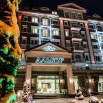 Отель Алькор - зимой.