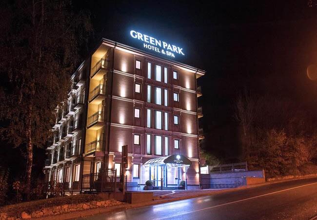 Отель Green Park