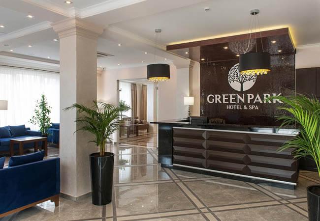 Отель Green Park Трускавец - Стойка.