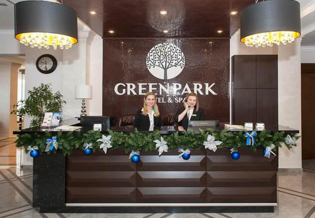 Отель Green Park Трускавец - Reception