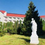Санаторій Червона Калина - Статуя.