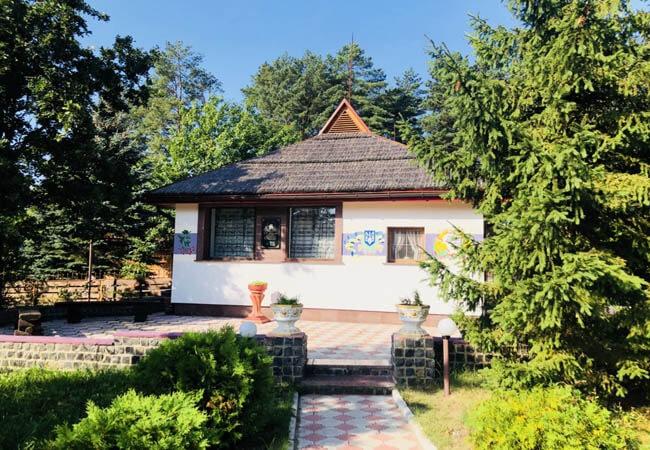 Санаторій Червона Калина - Музей Шевченко.